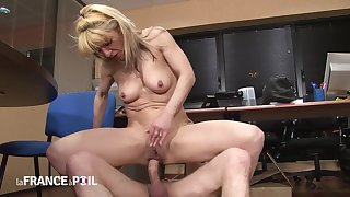Mature Wed Catches Cut corners Jerking