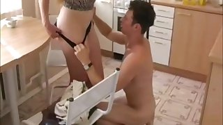 Hot Russian Mature Delights With Young Dude