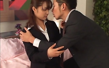 Amazing Mihiro fucks nearly a kinky guy until she reaches an orgasm